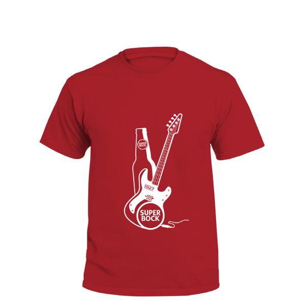 T-Shirt Super Bock Música