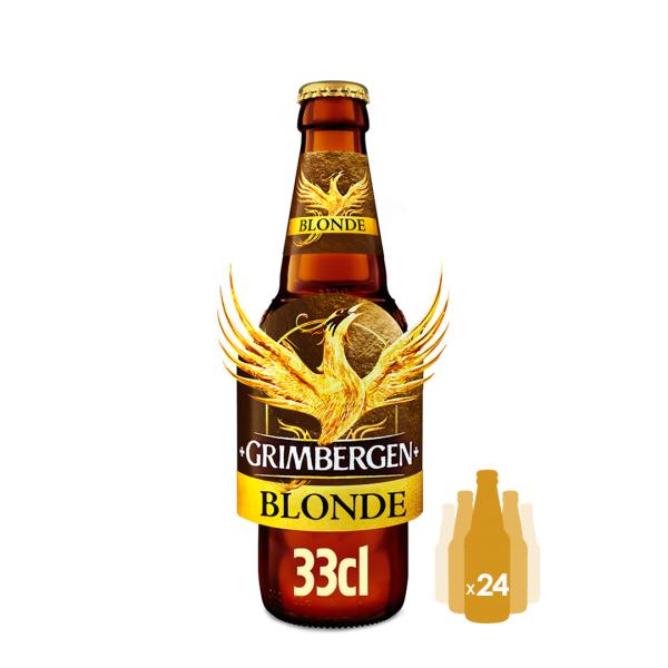 Cerveja Grimbergen Blonde