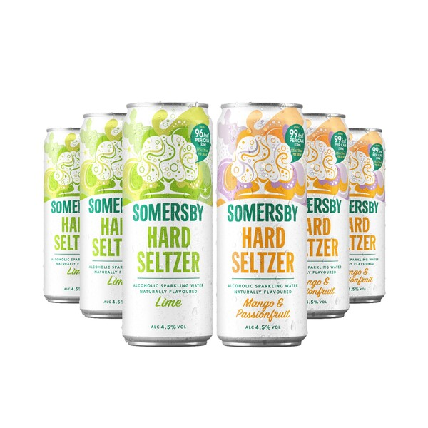 Pack Mix Somersby Hard Seltzer