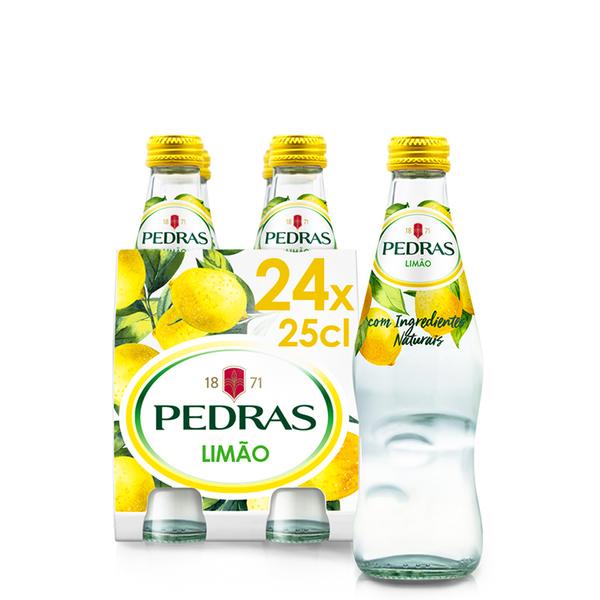 Água com Gás Pedras Limão